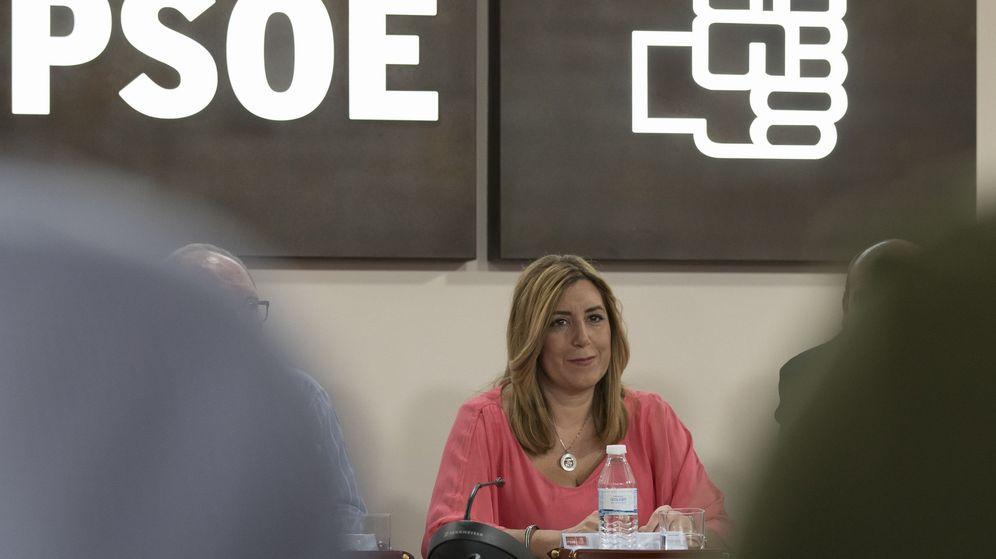 Foto: Susana Díaz impulsa su agenda andaluza (Efe).