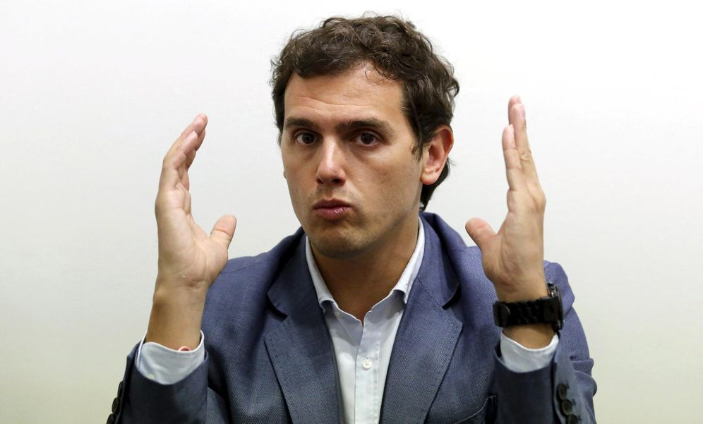 Foto: Albert Rivera, líder de Ciudadanos (Reuters)