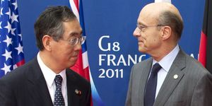 """Japón pide """"sangre fría"""" a sus socios del G-8 ante la crisis nuclear"""