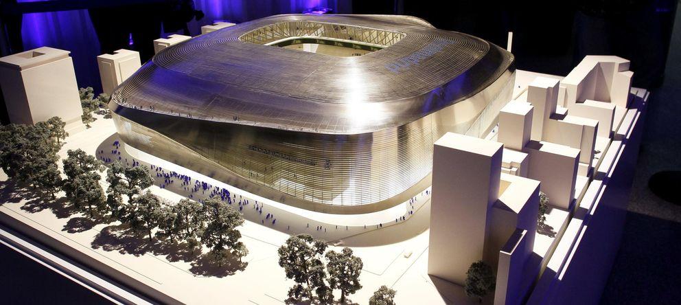Foto: Proyecto de la ampliación del Santiago Bernabéu. (EFE)