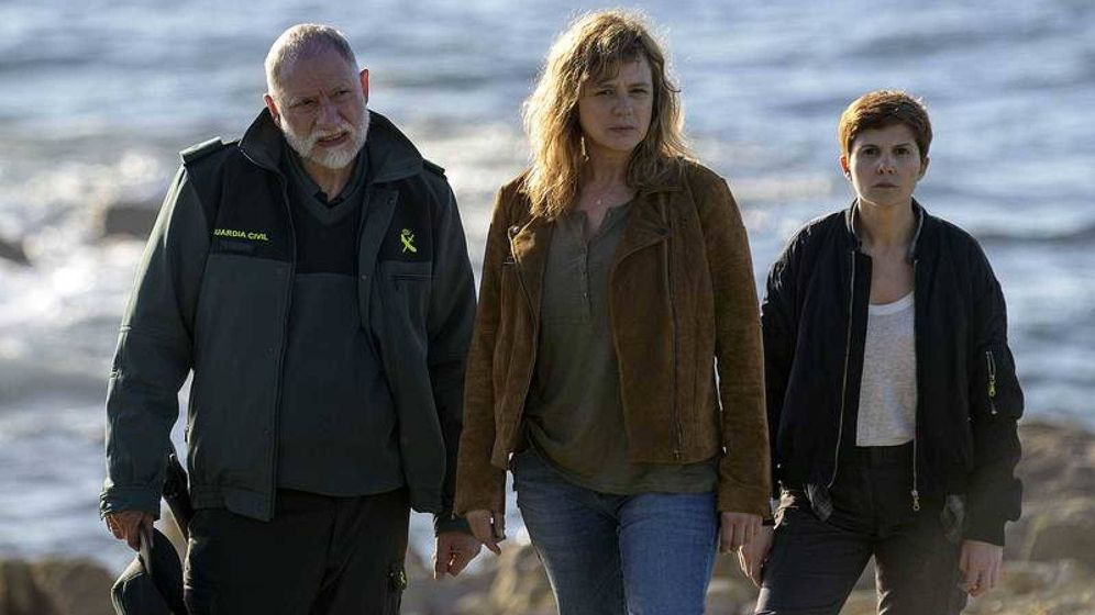 Foto: Emma Suárez encabeza el reparto de 'Néboa'. (RTVE)