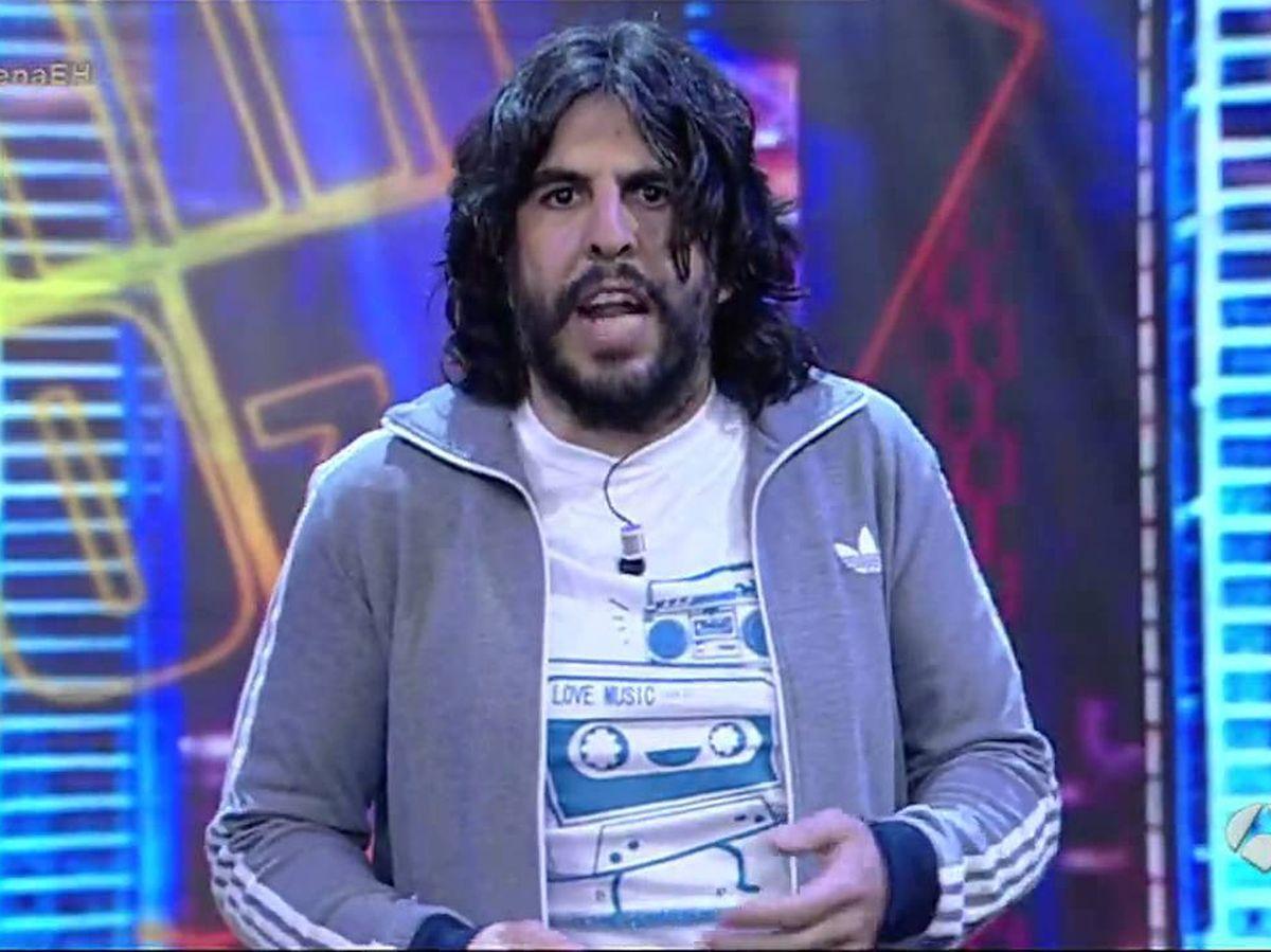 Foto: J.J. Vaquero, en 'El hormiguero'. (Antena 3)