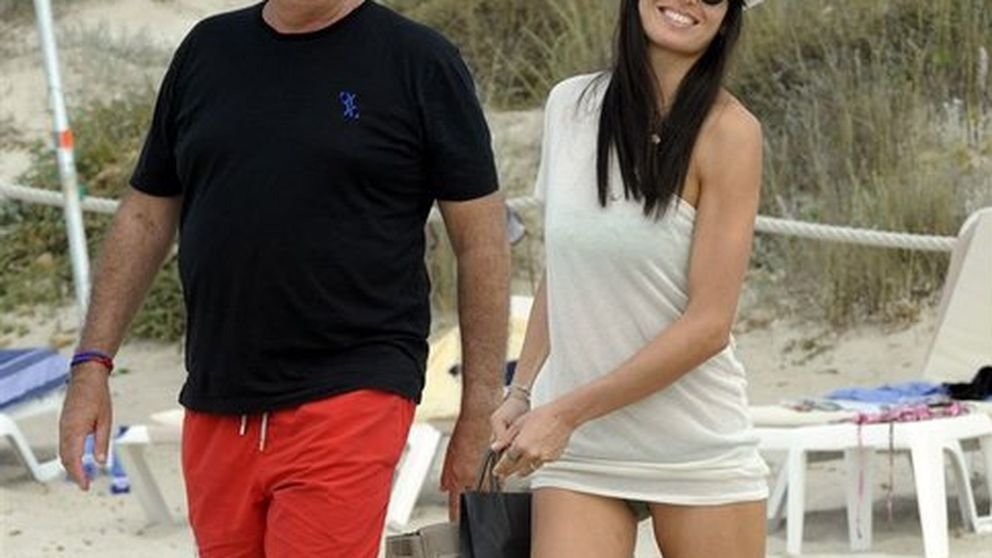 Flavio Briatore y Elisabetta Gregoraci, de vacaciones en Ibiza