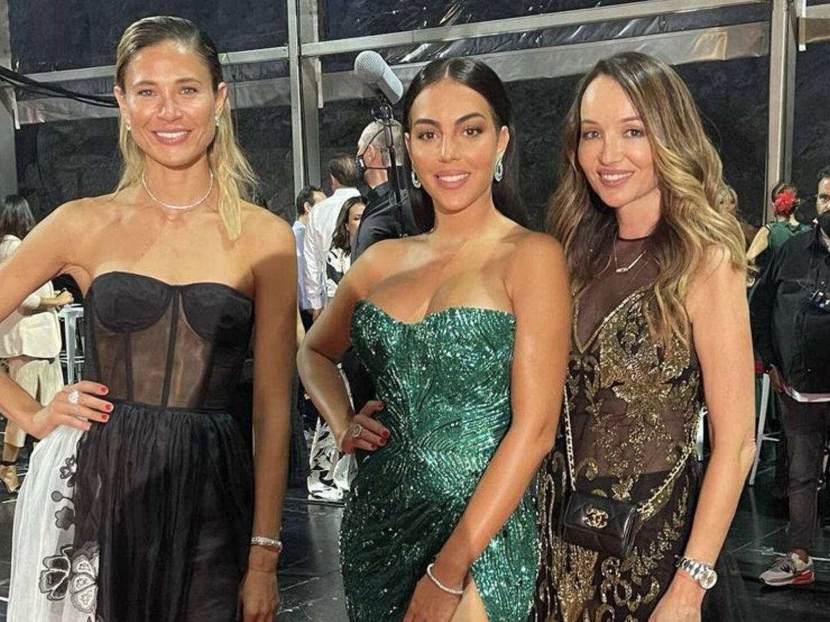 Foto: Carla Pereyra, Georgina Rodríguez y Ana Antic. (Imagen: Instagram)