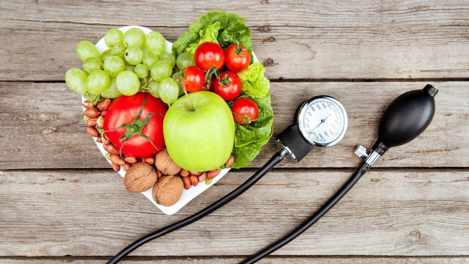 Dieta: DASH: la dieta para bajar la presión arterial