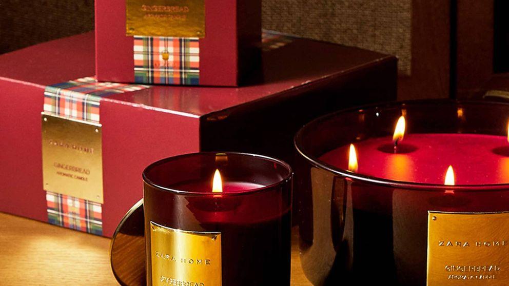Las velas de Zara Home para que nuestra casa huela a Navidad