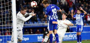 Post de El hundimiento del Madrid en Vitoria con Florentino sufriendo en el palco