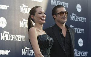Brad Pitt, golpeado por un reportero ucraniano en el estreno de 'Maléfica'