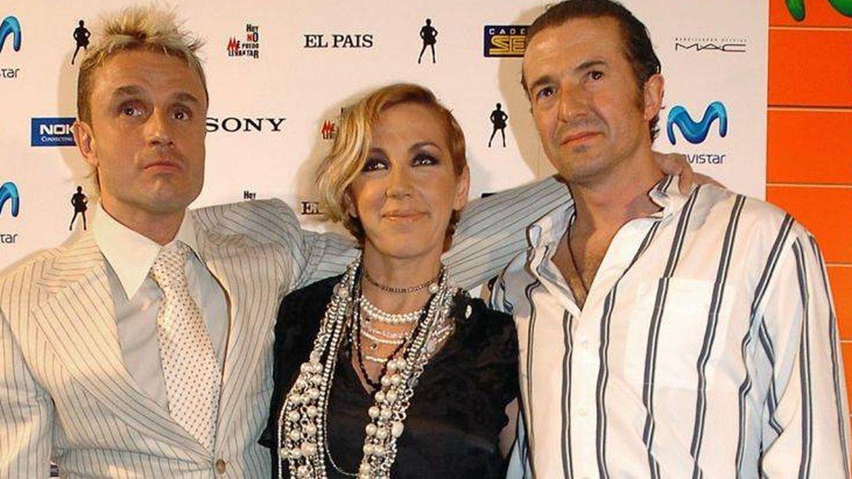 Nacho, Ana y José María, Mecano, en una imagen de archivo. (EFE)