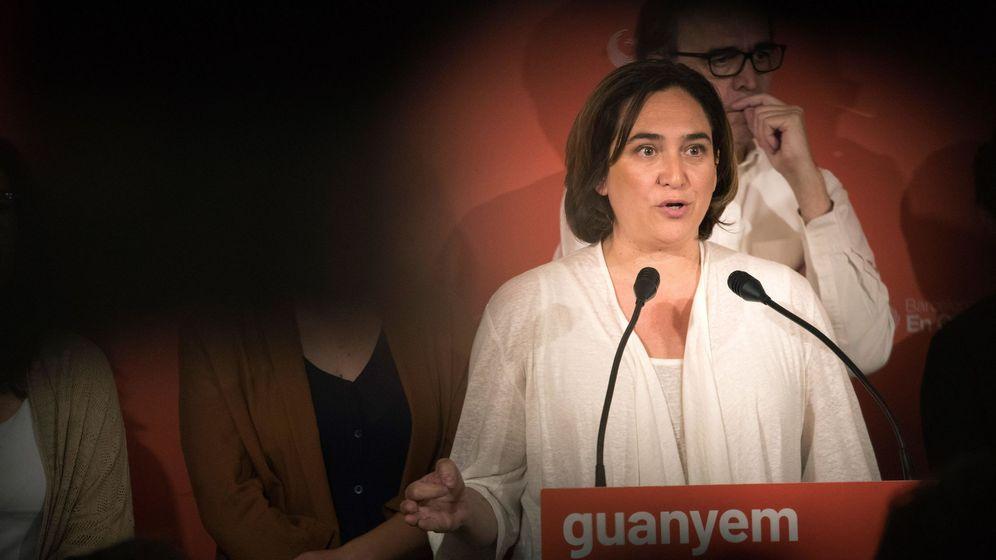 Foto: a alcaldesa y candidata de Barcelona en Comú a la reelección, Ada Colau. (EFE)
