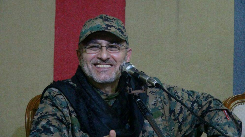 Foto: El jefe militar de Hizbulá, Mustafa Badredin, muerto en un supuesto ataque israelí en Siria (Reuters).