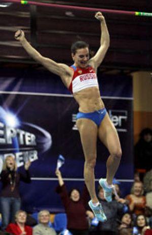 """Isinbayeva se """"aburre de una vida normal"""" y en febrero vuelve a la competición"""