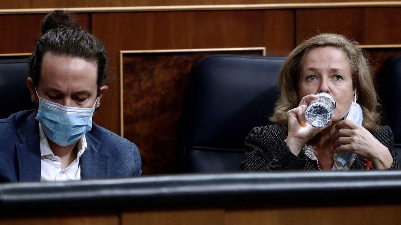 Blindaje antiPodemos en 'CaixaBankia' y el FROB: Calviño elige perfiles apolíticos