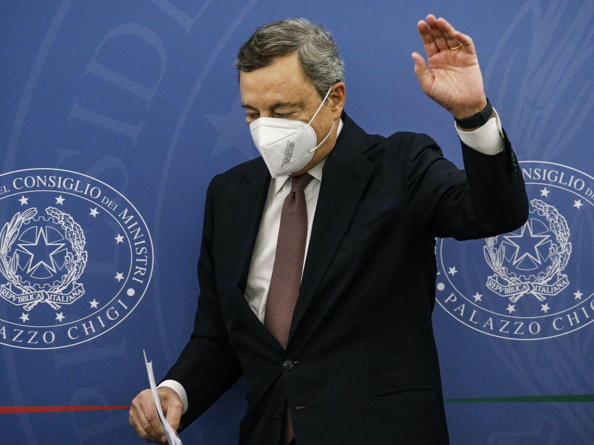 Foto:  El primer ministro italiano, Mario Draghi, (EFE)