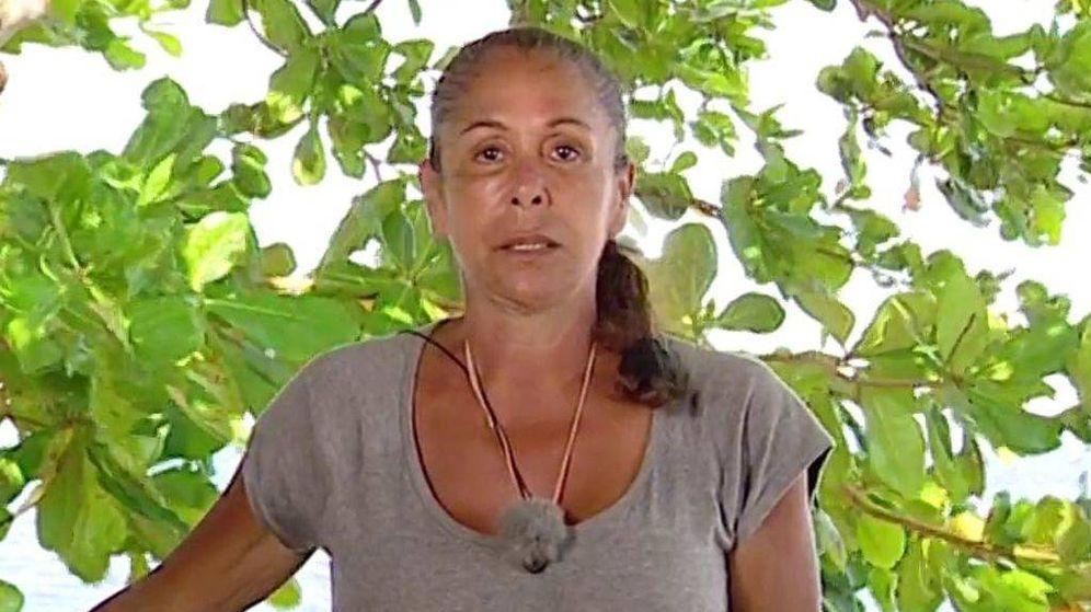 Foto: Isabel Pantoja, en la última emisión de 'Tierra de Nadie'. (Mediaset)