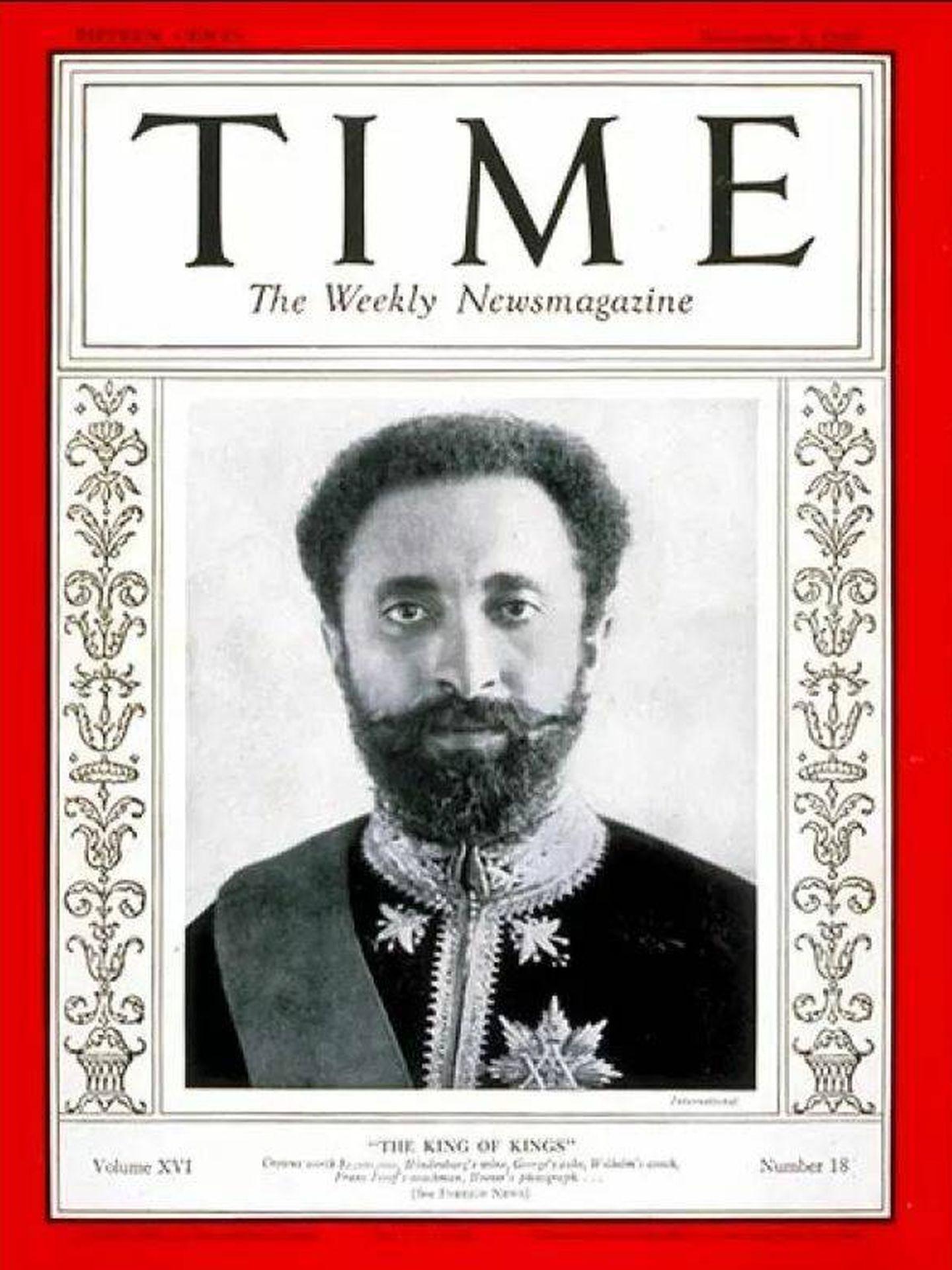 El 'rey de reyes' siendo 'Hombre del año' en 1930.