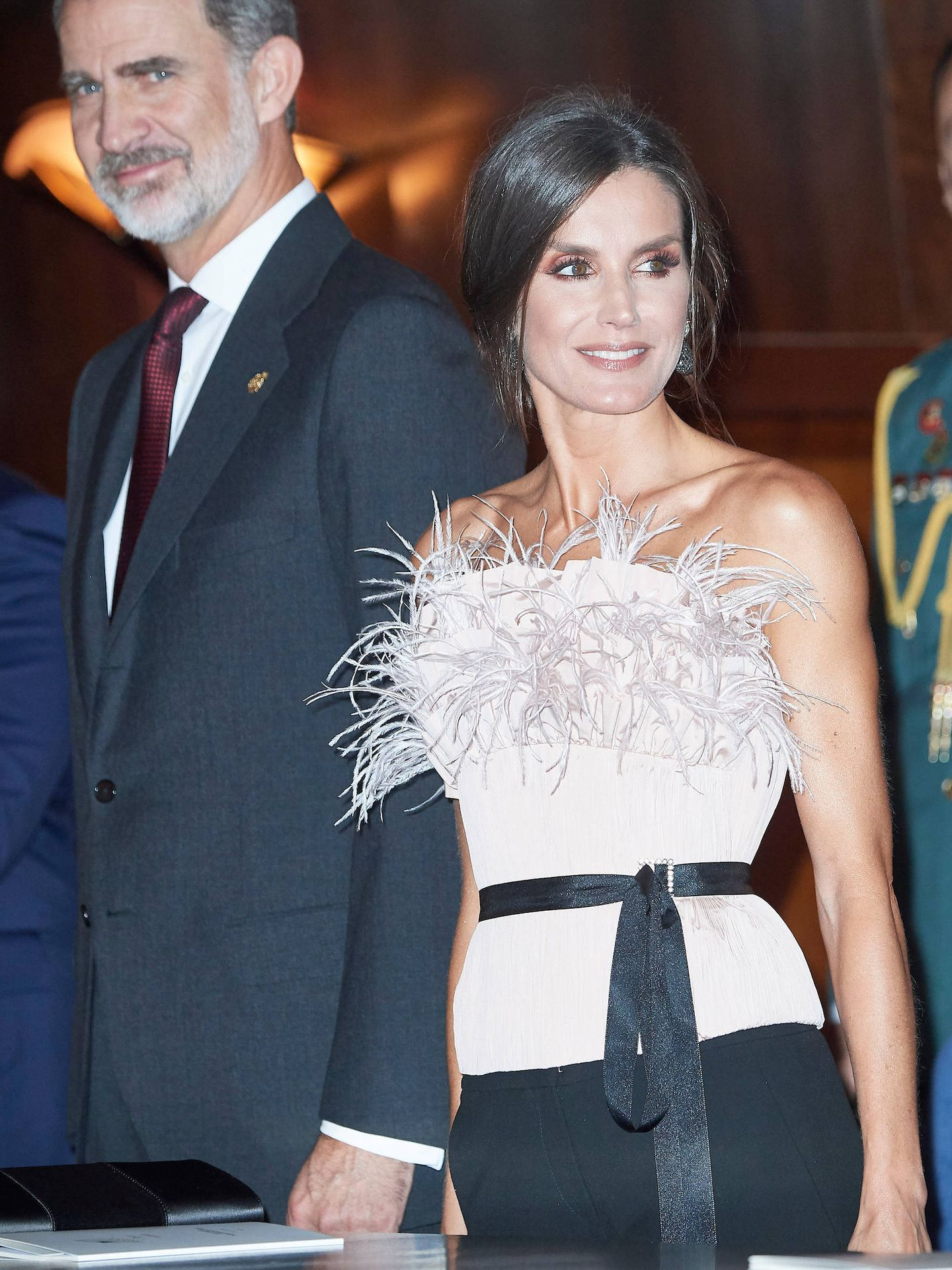 Don Felipe y doña Letizia. (LP)