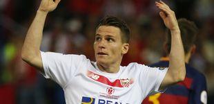 Post de El Atlético hace oficial el fichaje de Gameiro y la cesión de Vietto al Sevilla