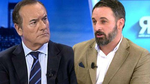 Antonio Jiménez atiza a Santiago Abascal (Vox) por no acudir a 'El cascabel' de Trece