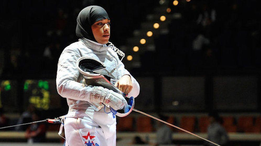 Foto: Ibtihaj Muhammad, primera norteamericana con velo en unos Juegos.