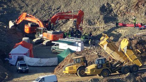 El rescate de Julen vuelve a ralentizarse por la dureza del terreno y la intervención de los Tedax