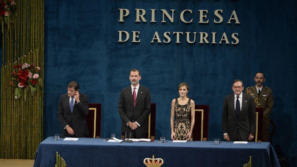 Foto: Don Felipe y Doña Letizia en los Premios Princesa de Asturias. (Gtres)