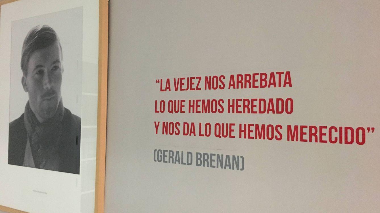 Foto: Un retrato de Gerald Brenan en su casa de Churriana. Foto: Agustín Rivera