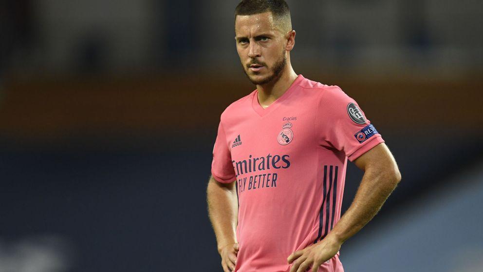 El Real Madrid, inquieto con Eden Hazard por su alarmante estado de forma
