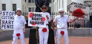 Post de Hombres Manchados de Sangre: la protesta contra la circuncisión en la Super Bowl