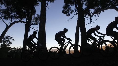 Ciclistas de lo más profesionales