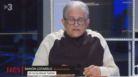 Cotarelo arremete contra una presentadora de TV3: Maleducada