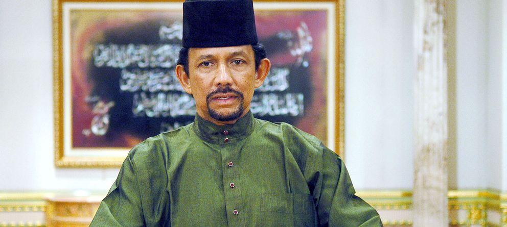 Foto: El sultán de Brunéi en una imagen de archivo (Gtres)