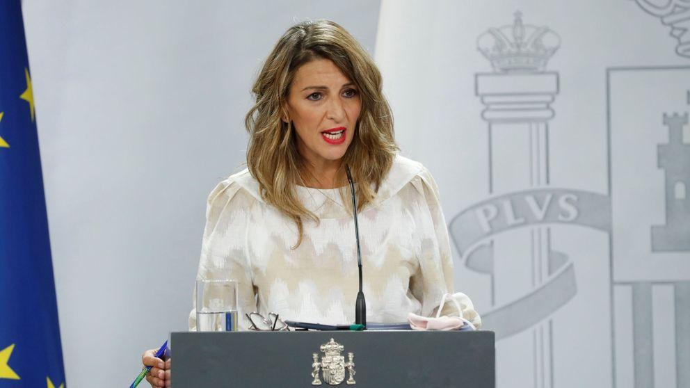 Yolanda Díaz convierte el diálogo social en el principal activo del Gobierno