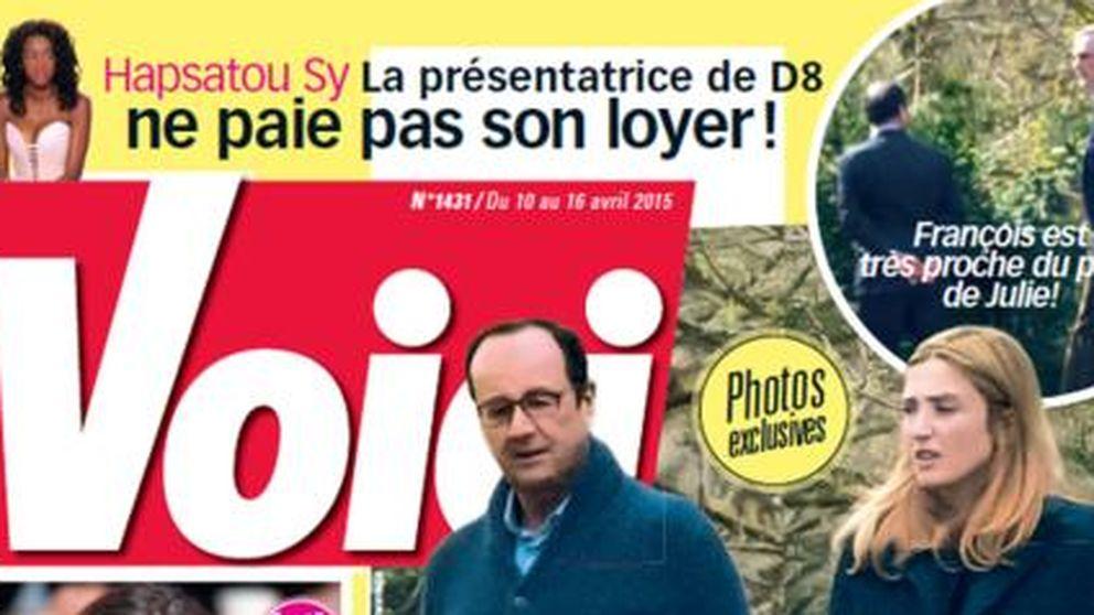 François Hollande se lleva a Julie Gayet a la 'casa de los cuernos'