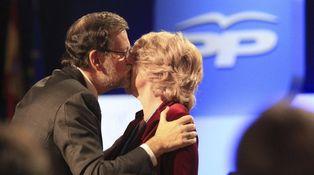 Rajoy, Aguirre y 'El Contrato'