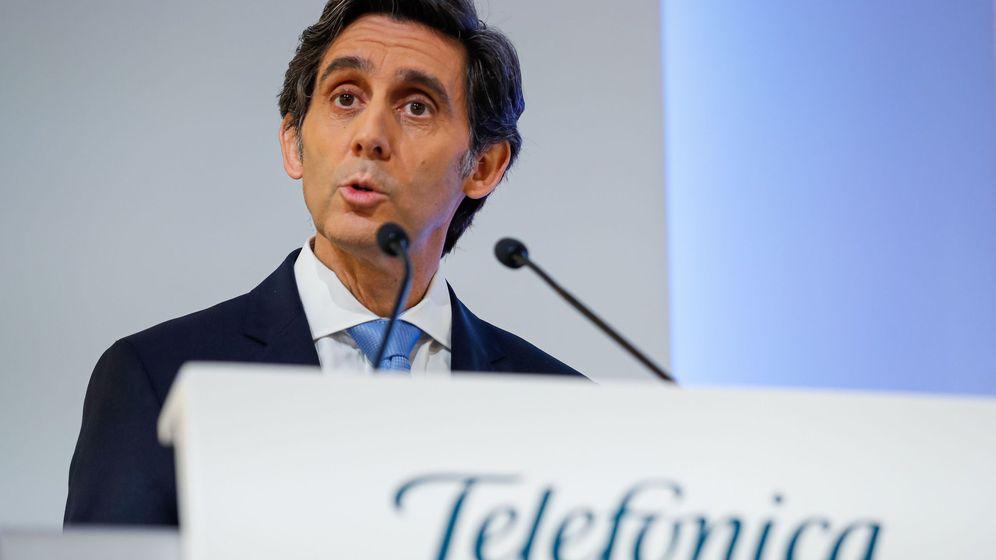 Foto: El presidente del grupo Telefónica, José María Álvarez-Pallete. (EFE)