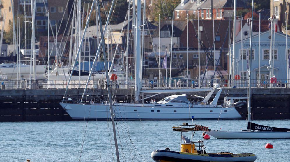 Foto: El puerto de Cowes, en la isla de Wight. (Reuters)