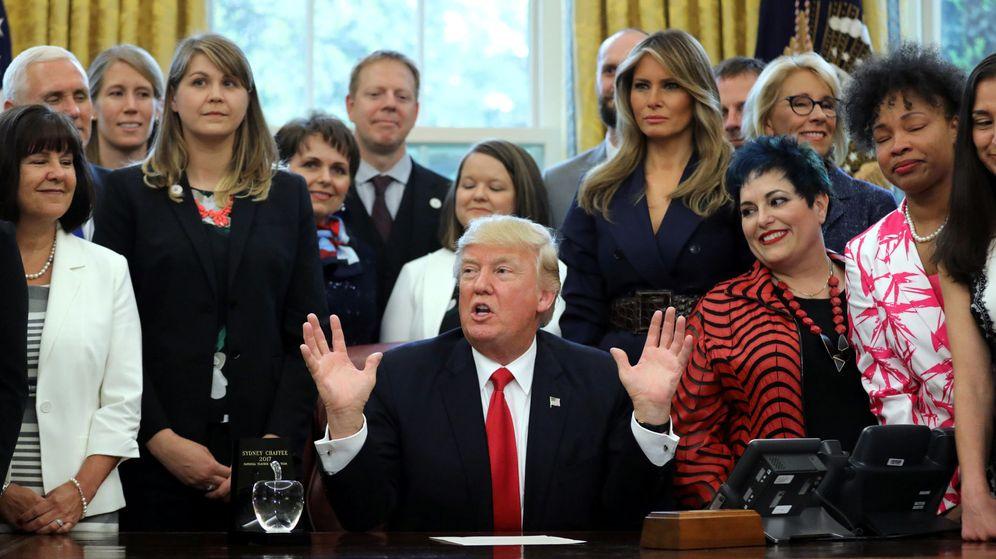 Foto: El presidente de Estados Unidos, en el Despacho Oval de la Casa Blanca. (Reuters)