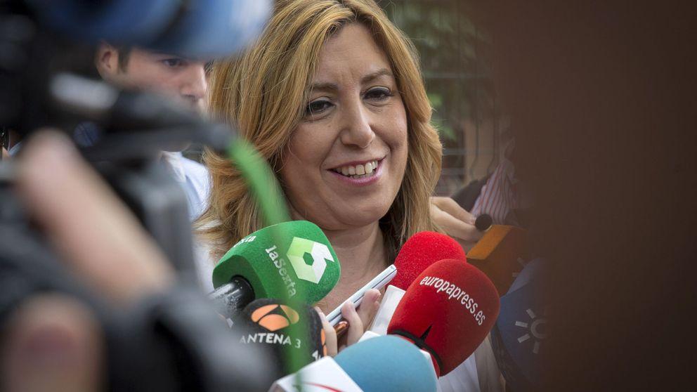 Susana Díaz exige un debate profundo y sosegado y elude respaldar a Pedro Sánchez