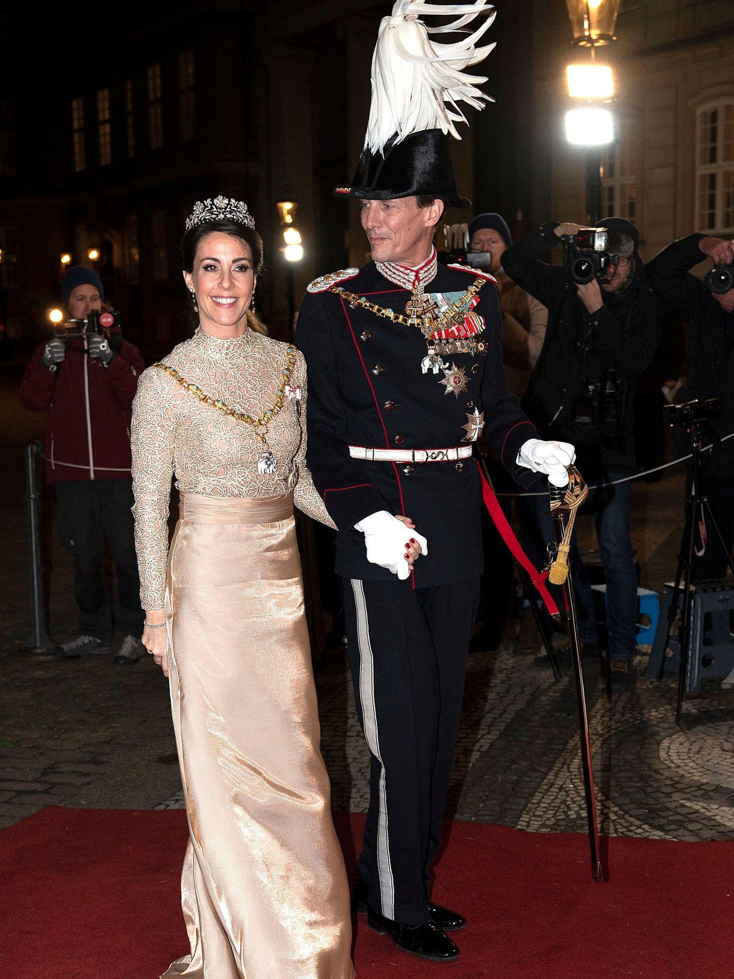Los príncipes Joaquín y Marie de Dinamarca, en una imagen de archivo. (Reuters)