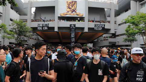 Miles de estudiantes abandonan las aulas para unirse a las protestas en Hong Kong