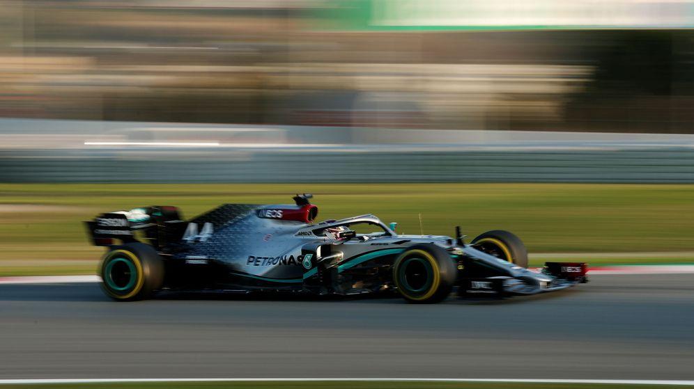 Foto: El nuevo W11 ha sido la sensación en la primera semana de pretemporada. (Reuters)