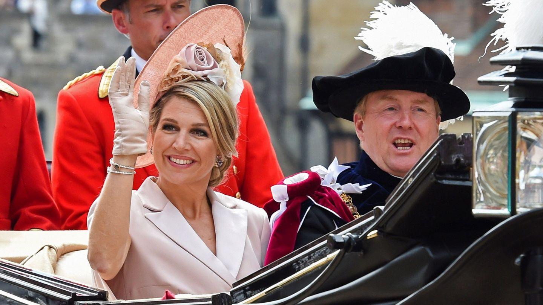 Los reyes Guillermo y Máxima, el pasado junio en Londres. (EFE)