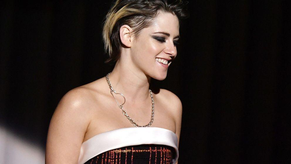 El lookazo tartán de Kristen Stewart para recoger un premio en Zúrich