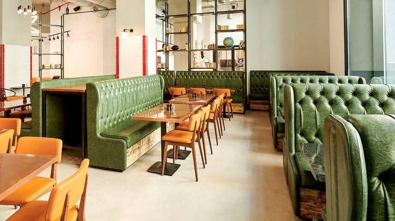 El restaurante del Generator Madrid. (Cortesía)