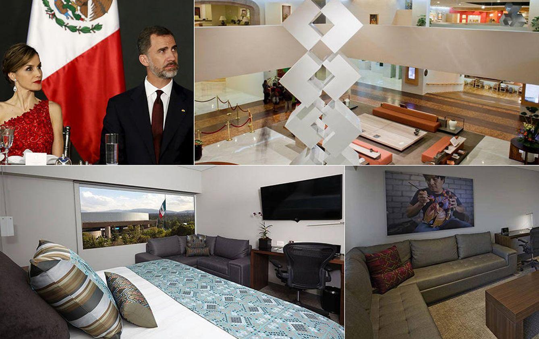 Foto: El lujoso hotel en el que se han hospedado los Reyes en su visita de Estado a México