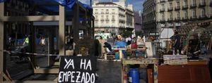Foto: Cifuentes prohíbe al 15-M acampar en Sol y ofrece como alternativa la Casa de Campo
