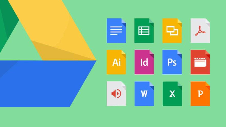 Las diferentes aplicaciones que ofrece Google Drive