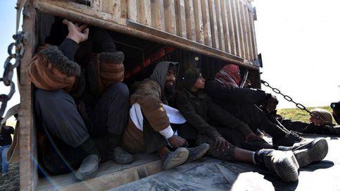 Cientos de civiles huyen del último bastión del Estado Islámico en Siria