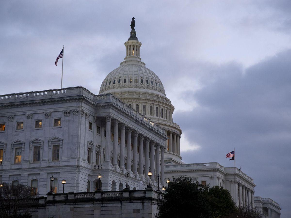 Foto: Capitolio de Washington. (EFE)
